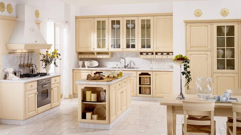 Cocinas cl sicas que tambi n pueden ser vistosas cocinas con estilo - Cocinas blancas clasicas ...