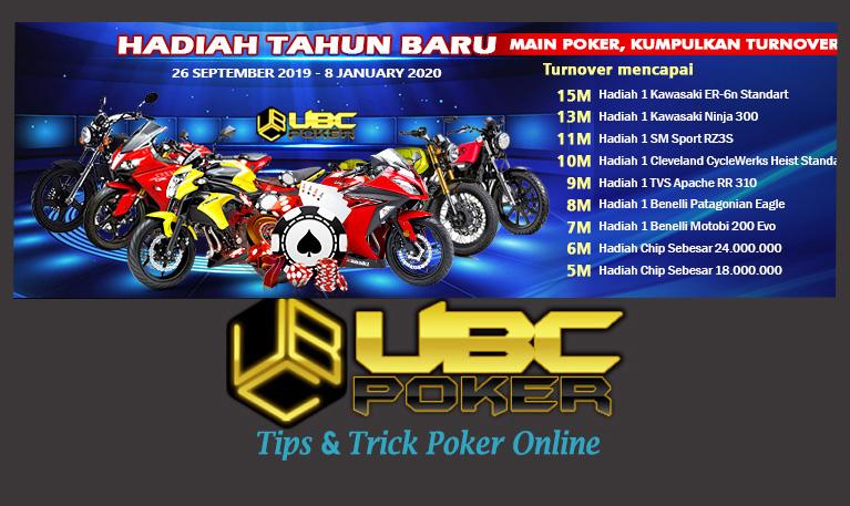 Event UBCPoker (Bonus Ketupat Lebaran) 2019