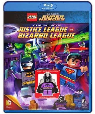 DC Superhéroes LEGO: Liga de la Justicia vs Liga de Bizarro 1080p HD Latino