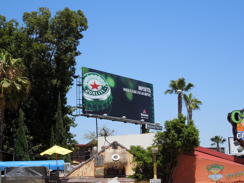 Heineken imported billboard