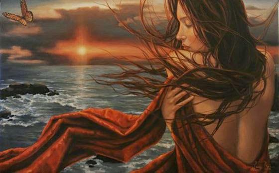 Despertar - Lauri Blank e suas pinturas cheias de emoções