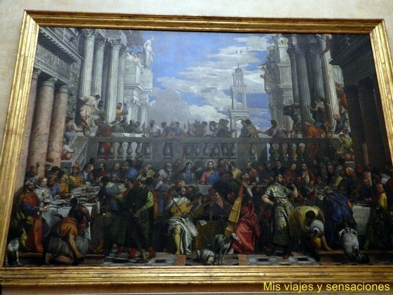 Las bodas de Caná, Paolo Veronese, Museo del Louvre, París