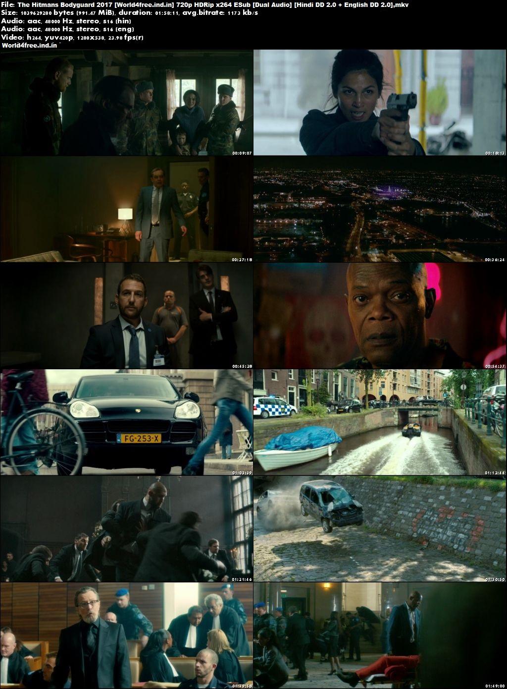 The Hitman's Bodyguard 2017 world4free.ind.in Dual Audio HDRip 720p Hindi English