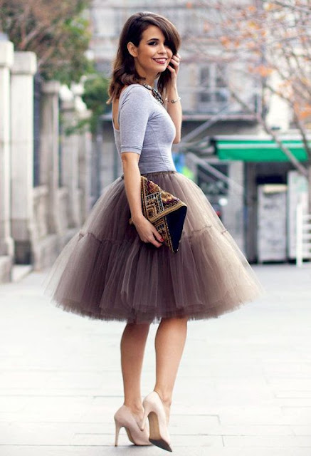 falda de tul mujer corte ingles