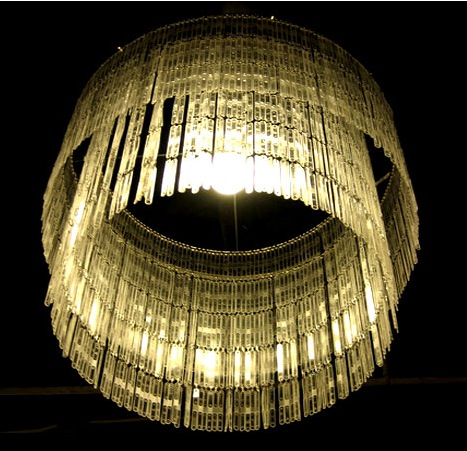 Stunning Lamps made from recycled materials ~ Extremely ...