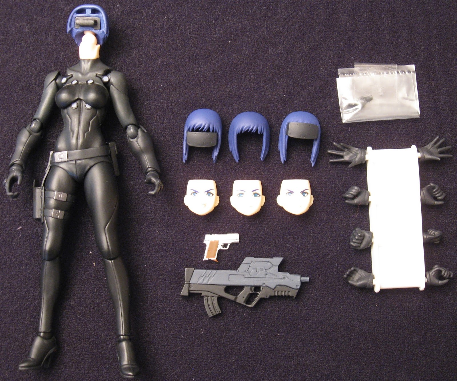 The Toyseum Kusanagi Motoko The New Movie Ver Figma Ghost In The Shell The New Movie Action Figure