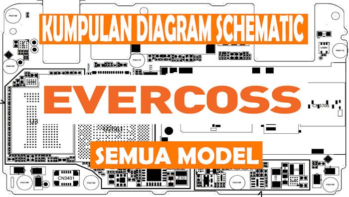 Kumpulan Diagram Schematic / Skema Evercoss Semua Model