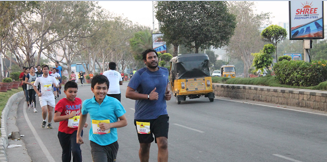 "Hyderabad Runners Organized ""Graduation Day"" for Coutch to 5K Run 2017"