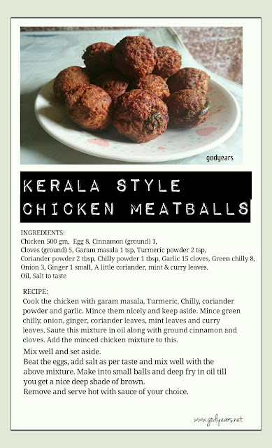 Chicken kuzhi appam / Kerala style chicken meatballs recipe