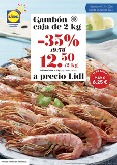 Cat logo lidl marzo 2016 for Lidl catalogo ofertas