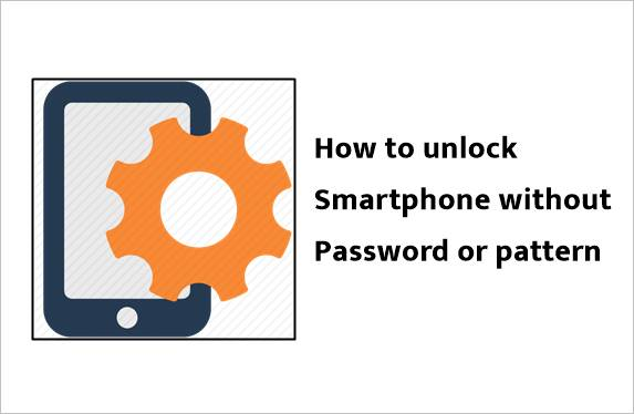 how to unlock the mobile phone without pattern or password
