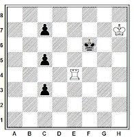 Estudio artístico de ajedrez de José Mugnos (Mundo Argentino, 1941)