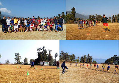 Winter Football Coaching mungpoo ground