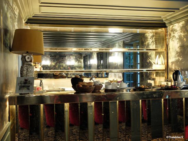 bar art deco hotel tres particulier montmartre Paris 18eme