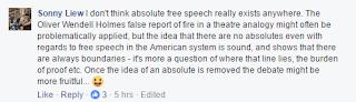I believe in free speech* 4