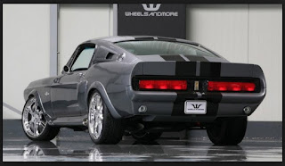 1967 Shelby Mustang GT500 Eleanor Rear