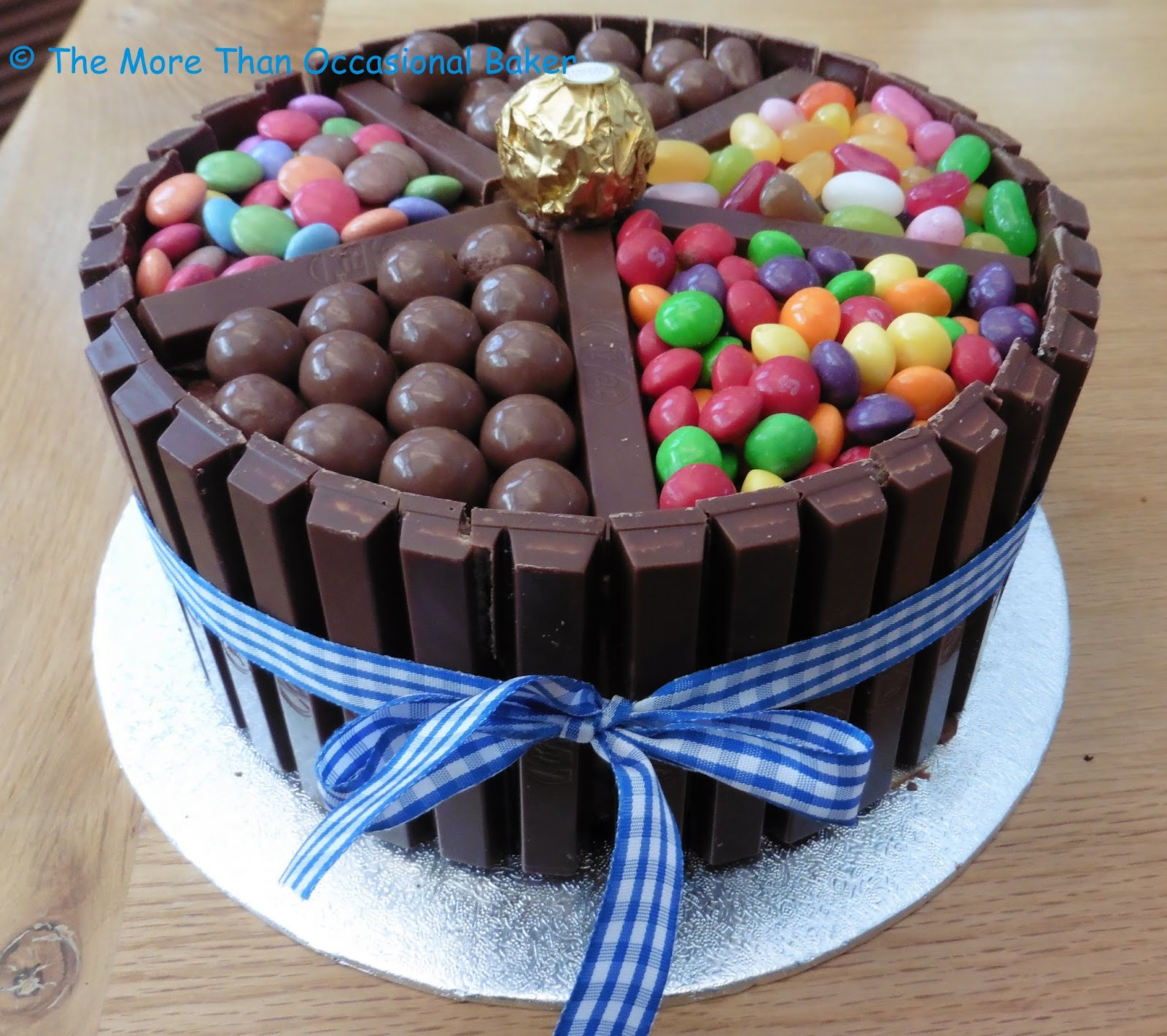 Birthday Cake Decorated With Sweets