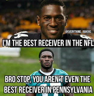 #NelsonAgholor, #Eagles #AntonioBrown, #steelers, I´m the best receiver in the nfl. bro stop, you aren't even the best receiver in pennsylvania