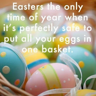 easter meme, eggs in one basket, how to make an easter basket, easter basket ideas