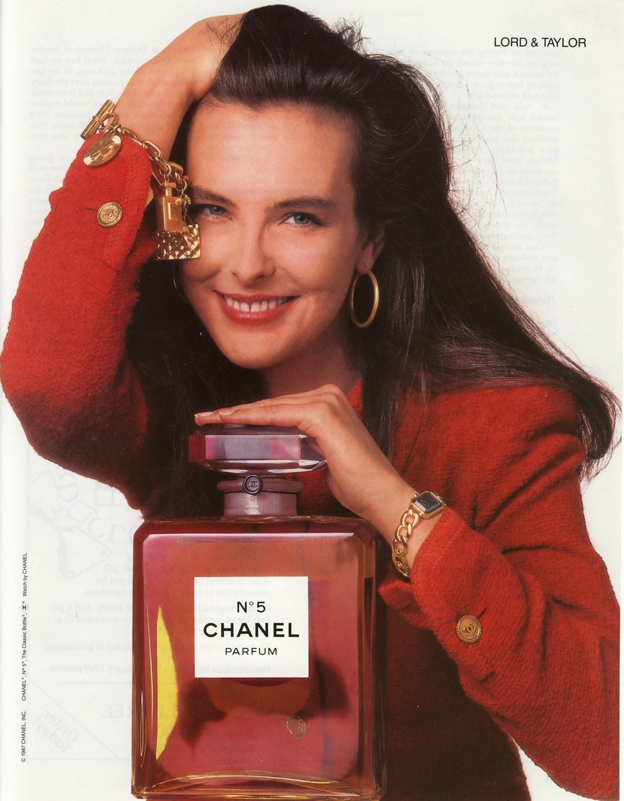 1988 Chanel 5 Ad Print Photo Old Magazine Ads