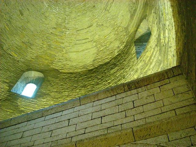 XI wieczna piastowska rotunda w Cieszynie - sklepienie