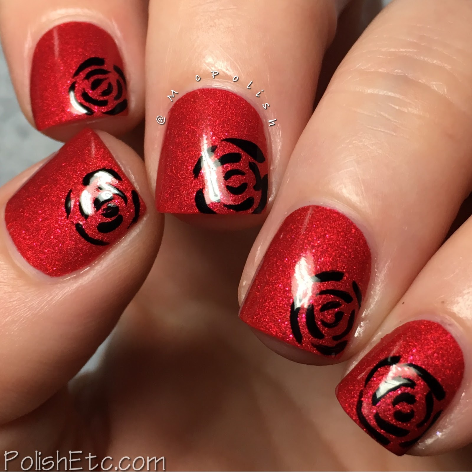 Red Nails for the #31DC2017Weekly - McPolish - Zoya Amal