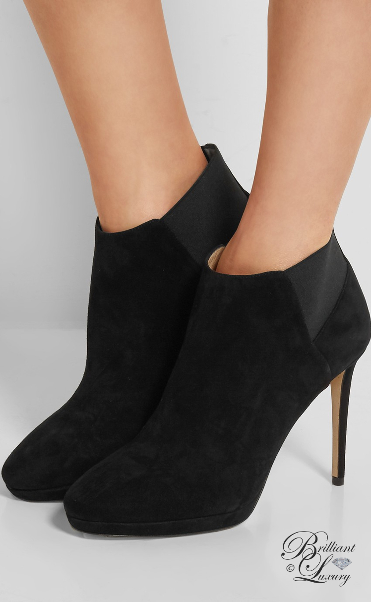 Brilliant Luxury ♦ Jimmy Choo Talula Suede Ankle Boots