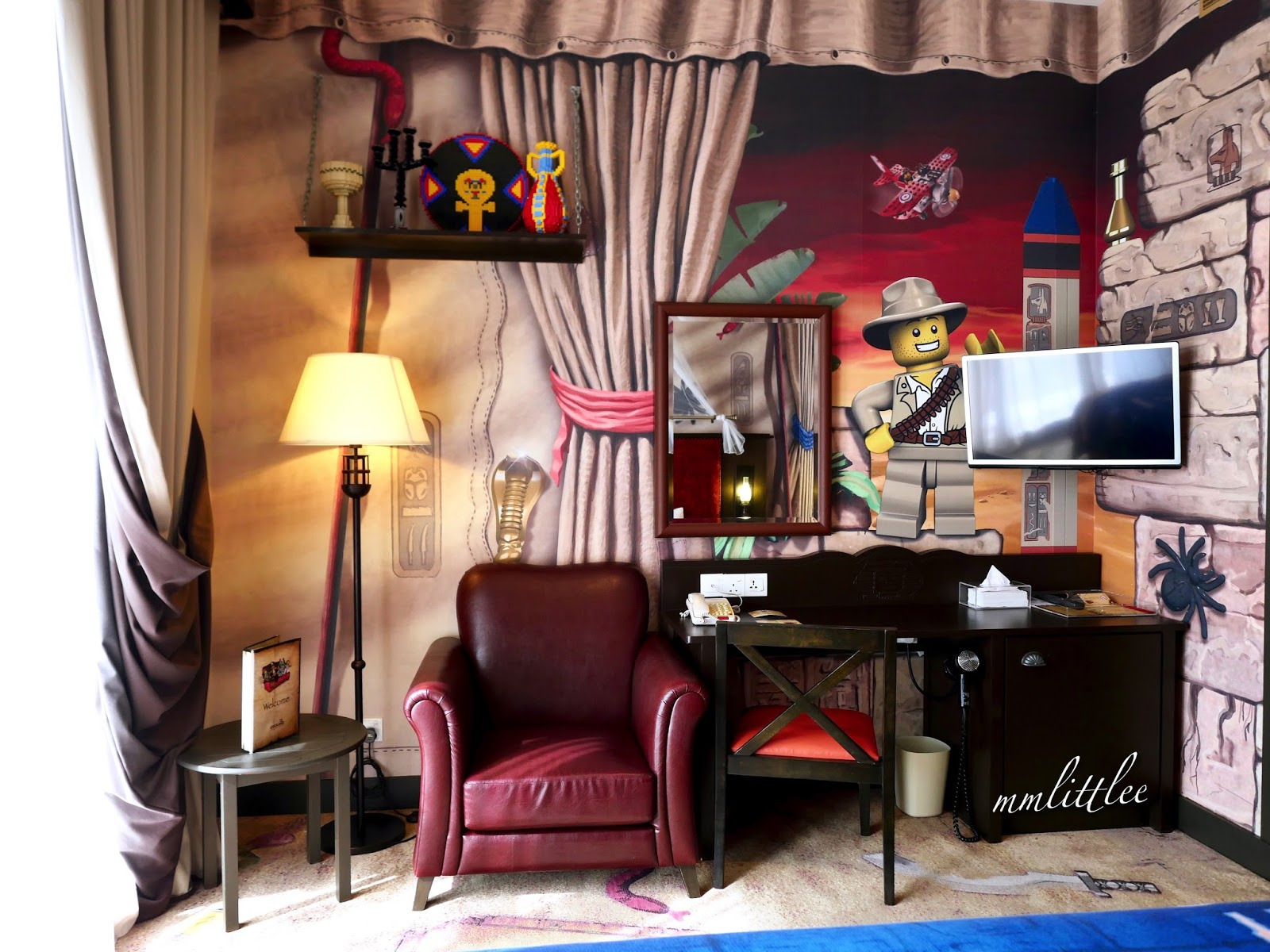 Great Dare to embark in a journey through Egypt with dessert spiders and scarab beetles in the Adventure themed room