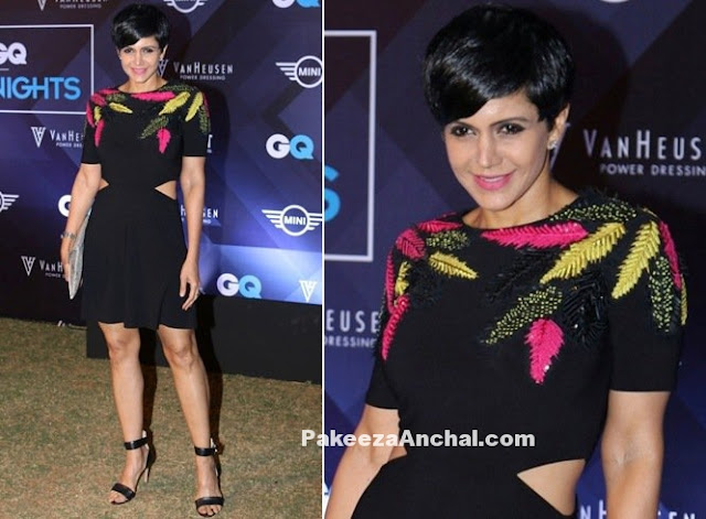 Mandira Bedi in One piece in Van Heusen and GQ Fashion Nights 2016