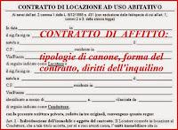 contratto di locazione: canone, forma, diritti dell'inquilino