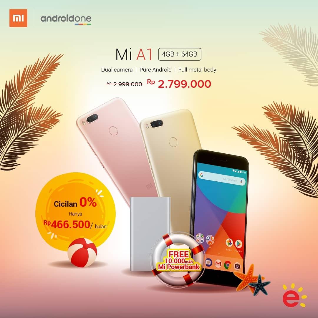 Erafone Promo Diskon Xiaomi Mi A1 Cuma 2 7 Jutaan Promosi247 Promosi Katalog Dan Diskon Tokopedia Superindo Indomaret Giant Ovo Gopay Dll