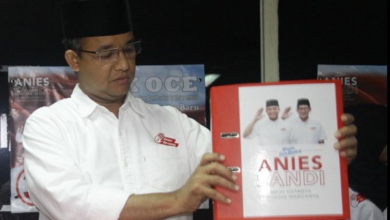 Anies Baswedan dikritik soal sumur resapan