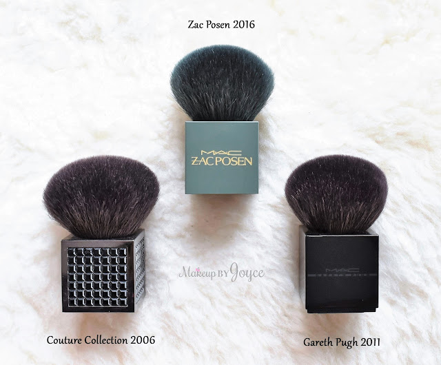 Zac Posen for MAC 182 Buffer Brush 2016 Collection Dupe Comparison Review