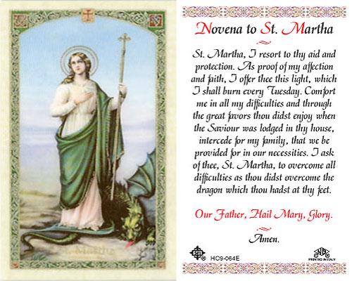 Catholic News World : Special #Novena to St  Martha - #Miracle
