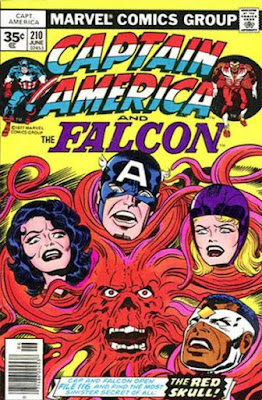 Captain America and the Falcon #210, the Red Skull