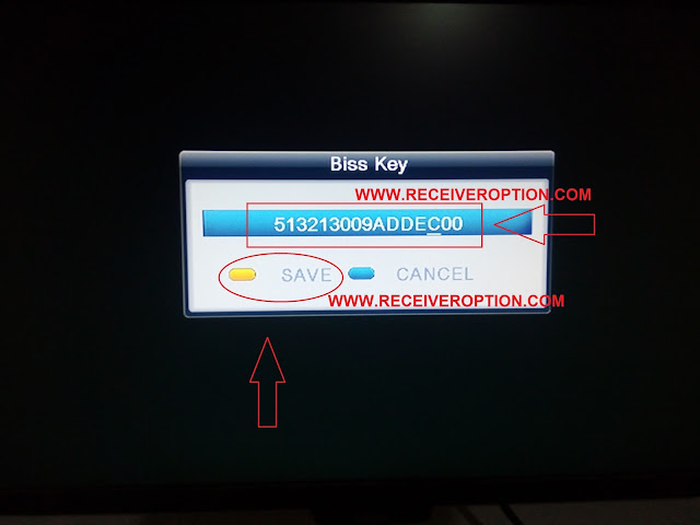 STARSAT SR-78HD PRIME RECEIVER BISS KEY OPTION