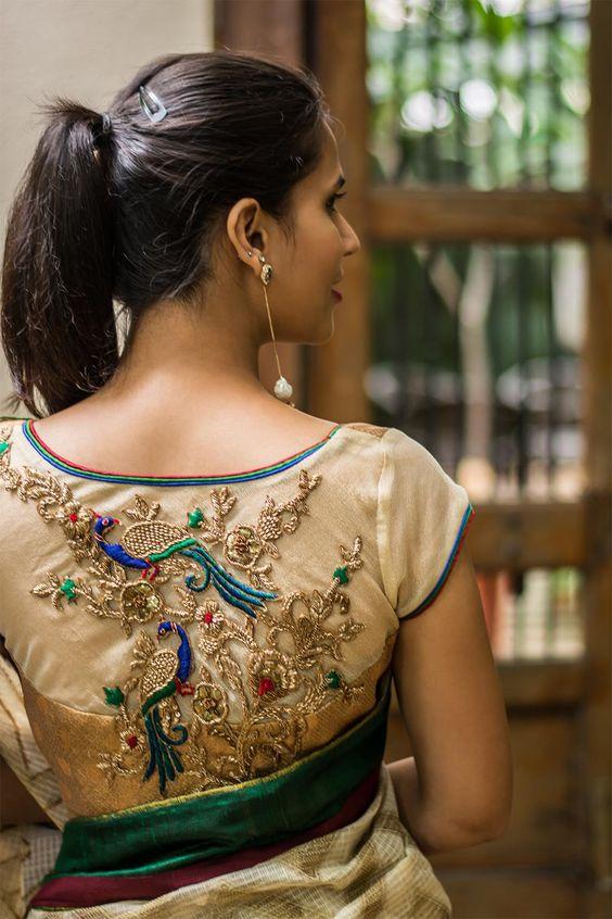 25 Latest Silk Saree Blouse Designs For Wedding Season Bling Sparkle
