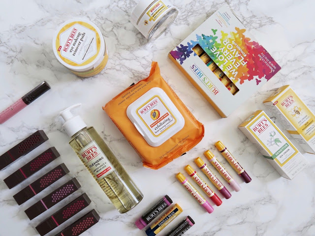 burt's bees new lipstick, burt's bees products, beauty giveaway