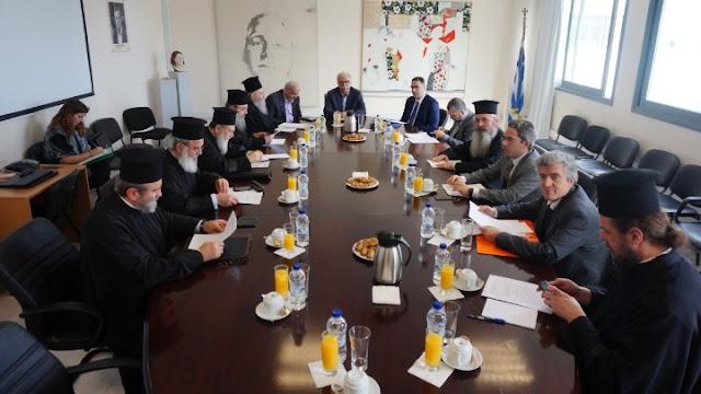 Διάλογος Πολιτείας - Εκκλησίας: Παραμένει αμετάβλητη η μισθοδοσία των κληρικών