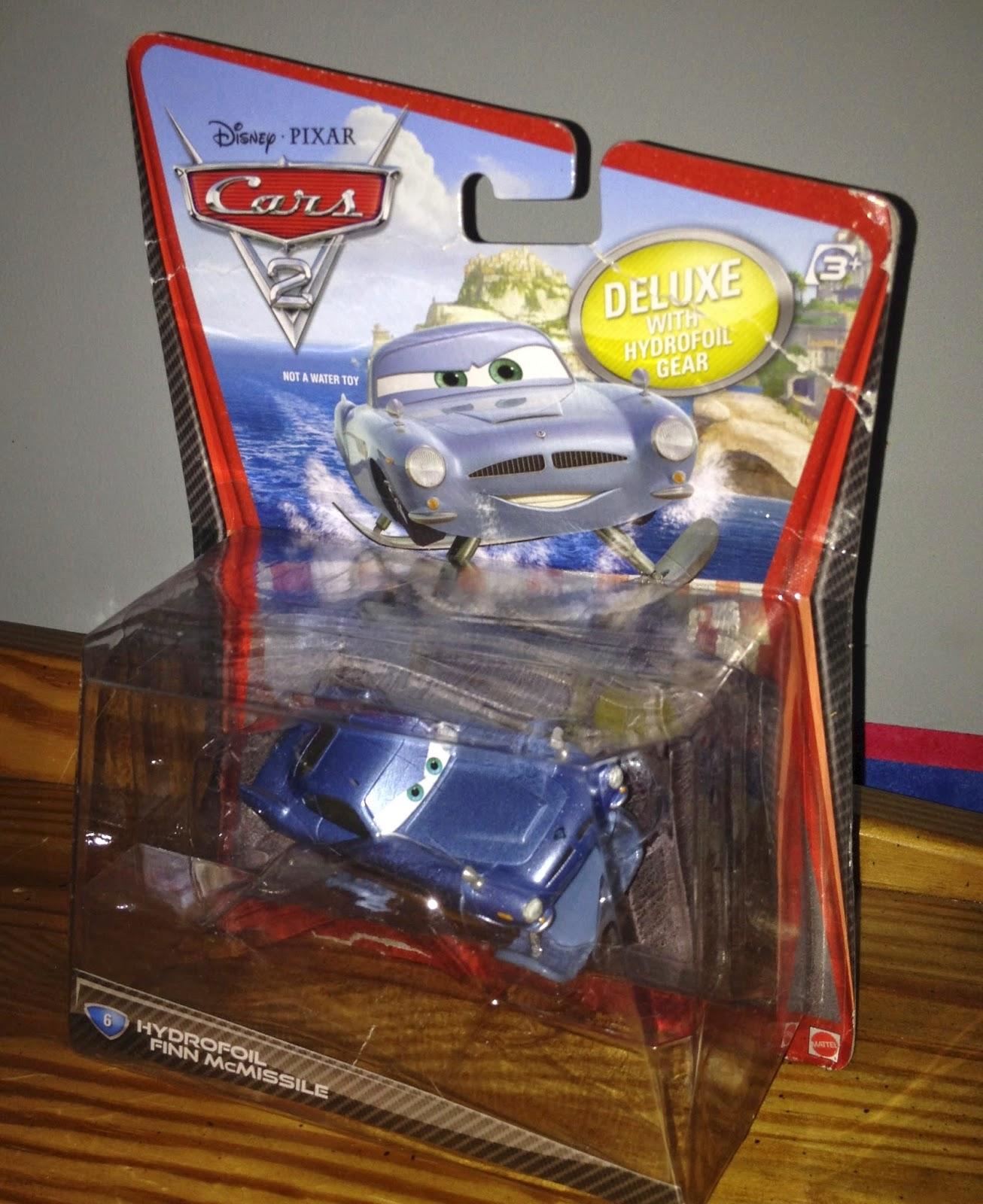 dan the pixar fan cars 2 hydrofoil finn mcmissile