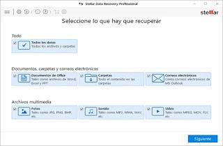 2764044812 -  Stellar Data Recovery Professional v8.0.0.0 Portable [ES[VS] - Descargas en general