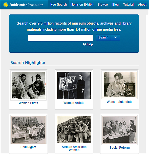 Smithsonian Collections Search