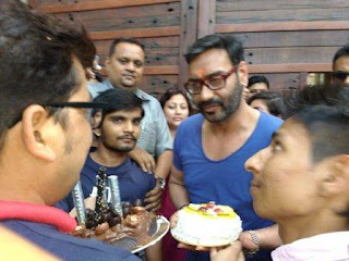 Ajay Devgn celebrates 47th birthday with fans