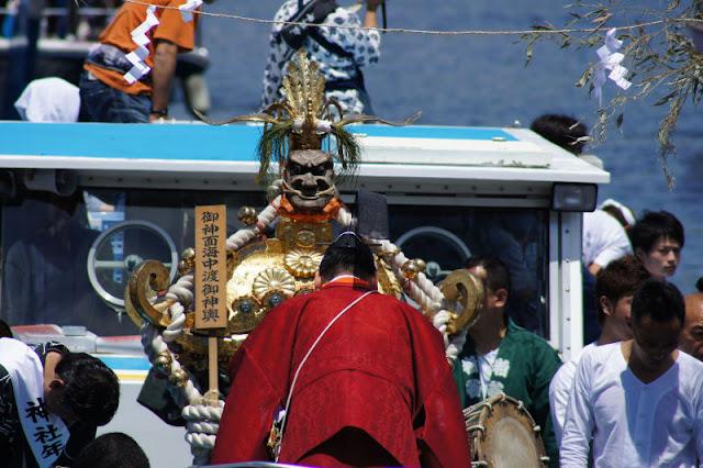 Tennou-sai (festival at shrine) at Ebara Jinja, Shinagawa, Tokyo