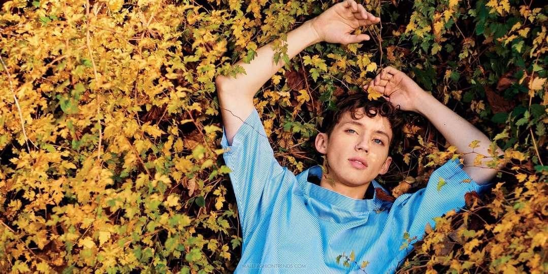 Troye Sivan para Teen Vogue Vol. 1 por Ryan McGuinley