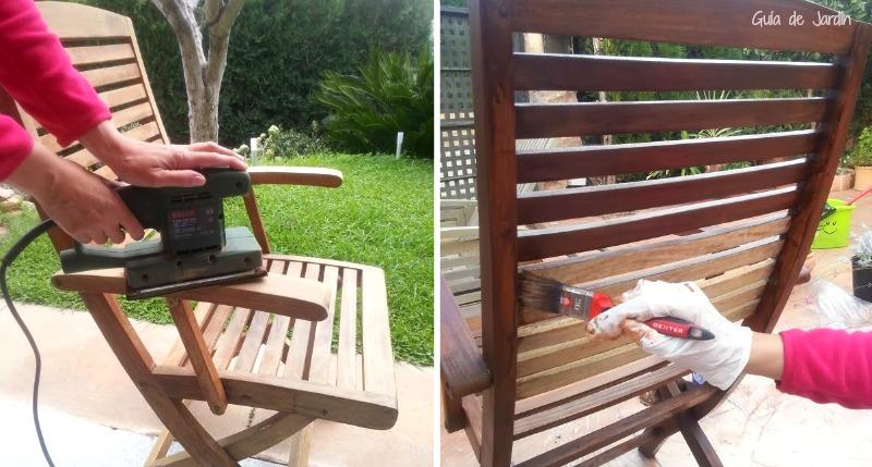 Cuidados y mantenimiento de los muebles de exterior - Guia de jardin