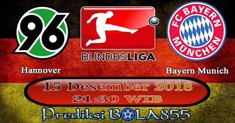 Prediksi Bola855 Hannover vs Bayern Munich 15 Desember 2018