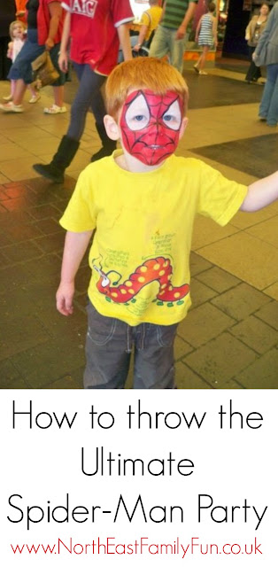 How to throw the ultimate Spider-Man party