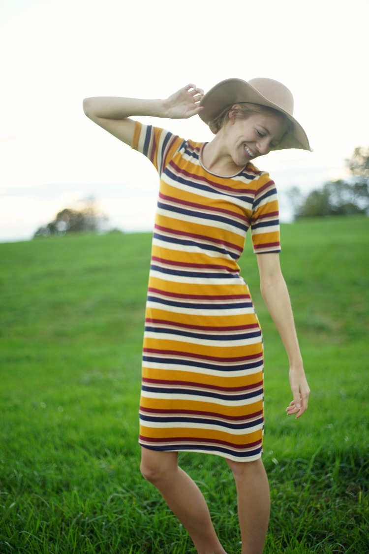 ShopStevie Striped Dress Style