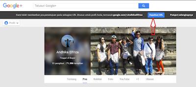 Google+ Versi Lama
